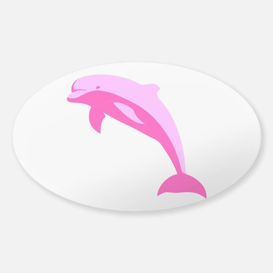 Pink Dolphin Decal