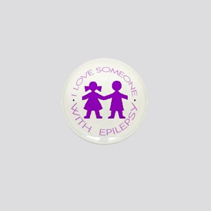 I love someone with Epilepsy Mini Button