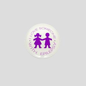 I love someone with Epilepsy Mini Button