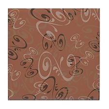 Milk Chocolate Tile Coaster