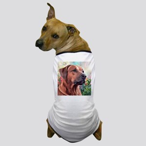 Rhodesian Ridgeback Painting Dog T-Shirt