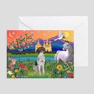 Fantasy Land / German SH Poin Greeting Card