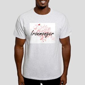 Ironmonger Artistic Job Design with Butter T-Shirt