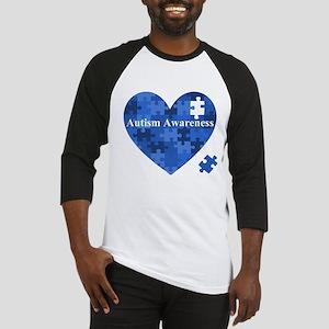 Autism Awareness Puzzle Baseball Jersey