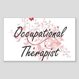 Occupational Therapist Artistic Job Design Sticker
