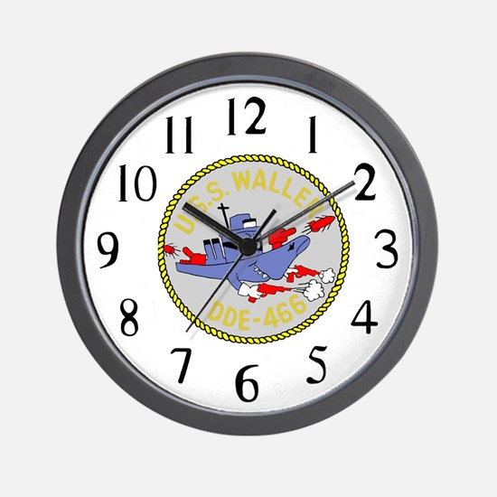 USS Waller (DDE 466) Wall Clock
