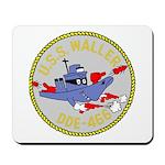 USS Waller (DDE 466) Mousepad