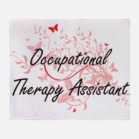 Occupational Therapy Assistant Artis Throw Blanket