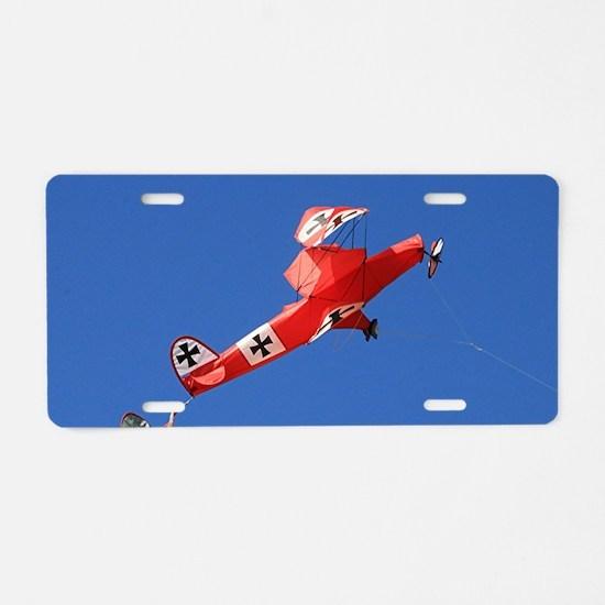 Cute Semaphore Aluminum License Plate