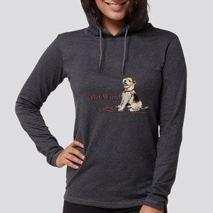 Wire Fox Terrier Dog Walk Long Sleeve T-Shirt