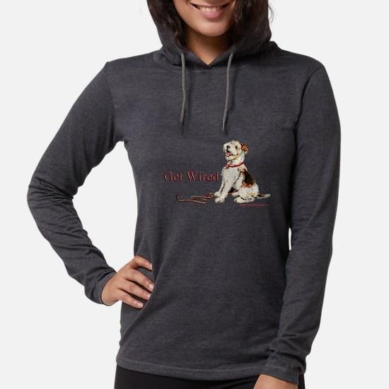 Wire Fox Terrier Dog Walk Long Sleeve T-Shirt