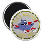 USS Waller (DDE 466) Magnet