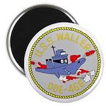 "USS Waller (DDE 466) 2.25"" Magnet (100 pack)"