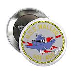"""USS Waller (DDE 466) 2.25"""" Button (100 pack)"""