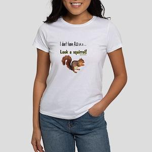 ADHD Squirrel Women's T-Shirt