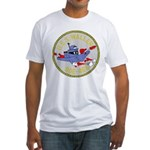 USS Waller (DDE 466) Fitted T-Shirt