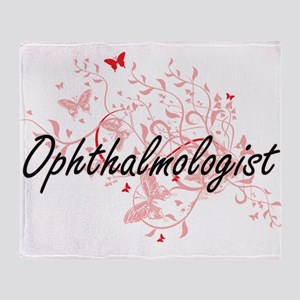 Ophthalmologist Artistic Job Design Throw Blanket