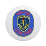 USS Sellers (DDG 11) Ornament (Round)