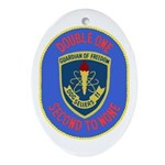 USS Sellers (DDG 11) Oval Ornament