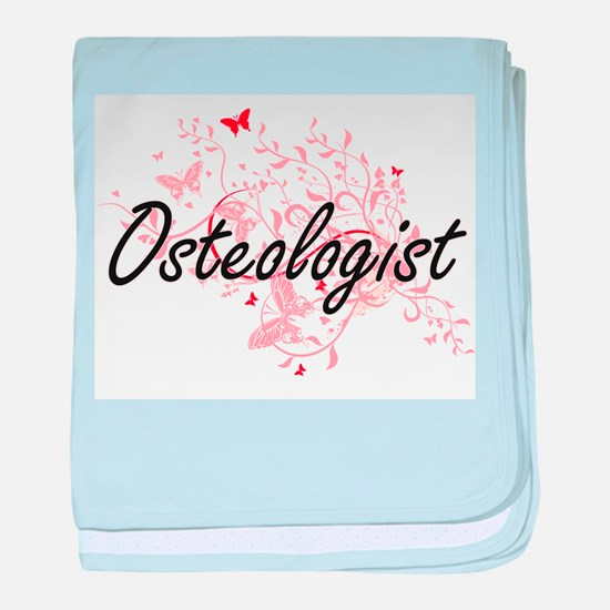 Osteologist Artistic Job Design with baby blanket