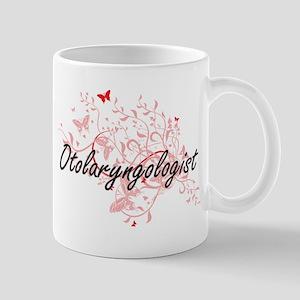 Otolaryngologist Artistic Job Design with But Mugs