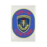 USS Sellers (DDG 11) Rectangle Magnet (100 pack)