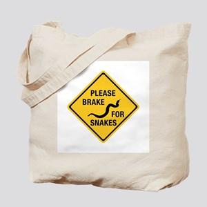 Please Brake For Snakes, Canada Tote Bag