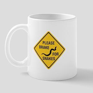 Please Brake For Snakes, Canada Mug