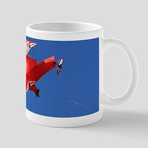 Red Baron biplane kite Mugs