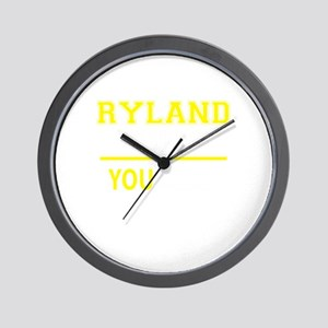RYLAND thing, you wouldn't understand! Wall Clock