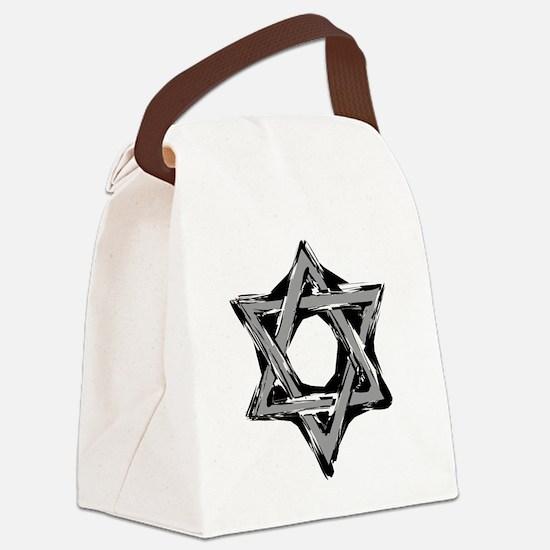 Unique Star david Canvas Lunch Bag