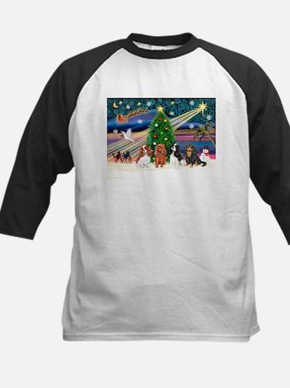 XmasMagic/4 Cavaliers Kids Baseball Jersey