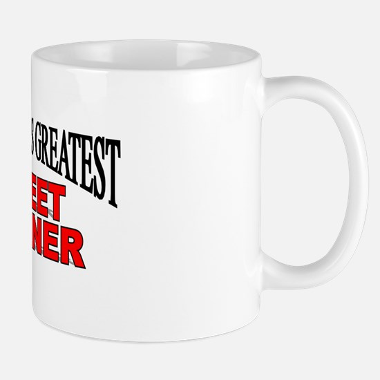 """The World's Greatest Street Cleaner"" Mug"