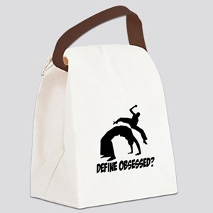 Capoeira Define Obsessed ? Canvas Lunch Bag