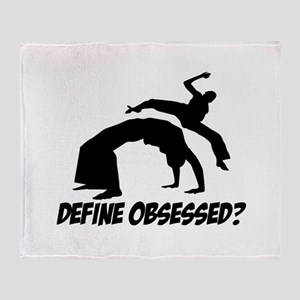 Capoeira Define Obsessed ? Throw Blanket
