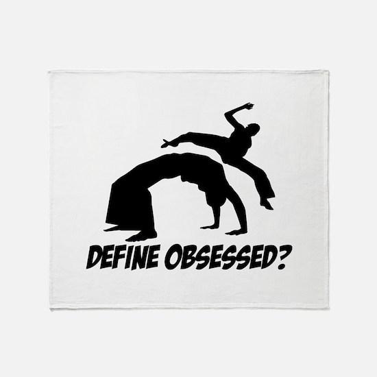 Capoeira Define Obsessed ? Throw Blanket