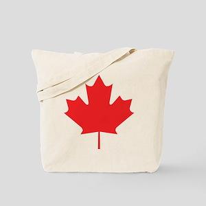 Red Maple Leaf Tote Bag