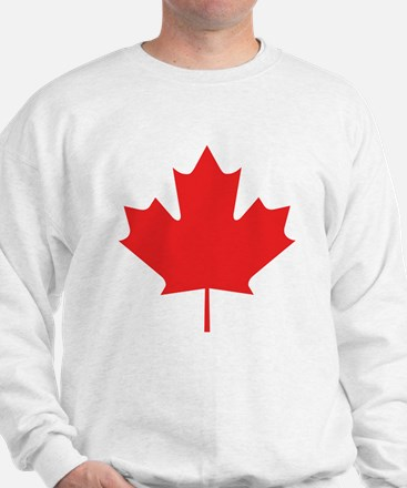 Red Maple Leaf Sweatshirt
