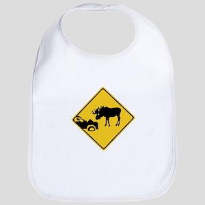 Beware of Moose, Canada Bib