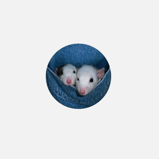 Lucy & Tina Mini Button