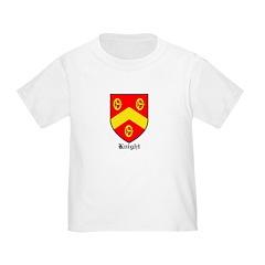 Knight Toddler T Shirt