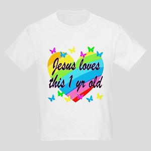 CHRISTIAN 1 YR OLD Kids Light T-Shirt
