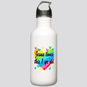 CHRISTIAN 1 YR OLD Stainless Water Bottle 1.0L