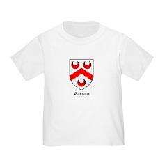 Carson Toddler T Shirt