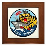 USS Turner (DDR 834) Framed Tile
