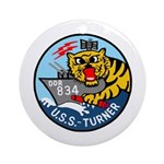 USS Turner (DDR 834) Ornament (Round)