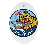 USS Turner (DDR 834) Oval Ornament