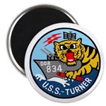 "USS Turner (DDR 834) 2.25"" Magnet (100 pack)"