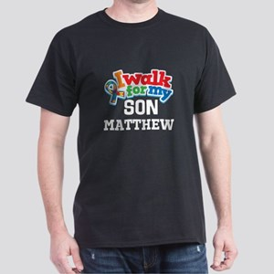 Personalized Autism Son Awareness T-Shirt