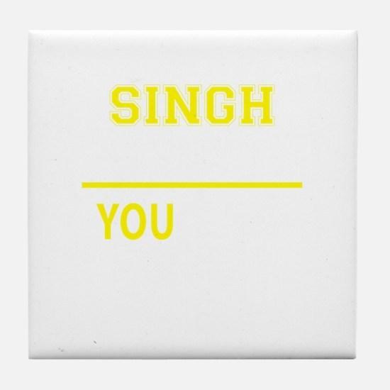 Cute Singh Tile Coaster